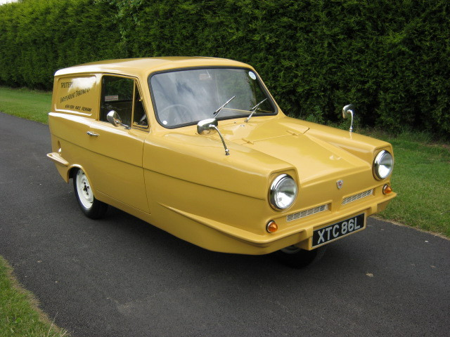 1973 reliant robin regal 3 700cc van trotters independant trading co 1