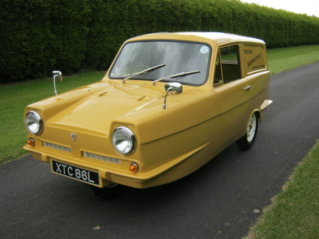 1973 reliant robin regal 3 700cc van trotters independant trading co 2
