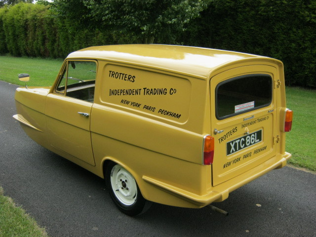 1973 reliant robin regal 3 700cc van trotters independant trading co 3