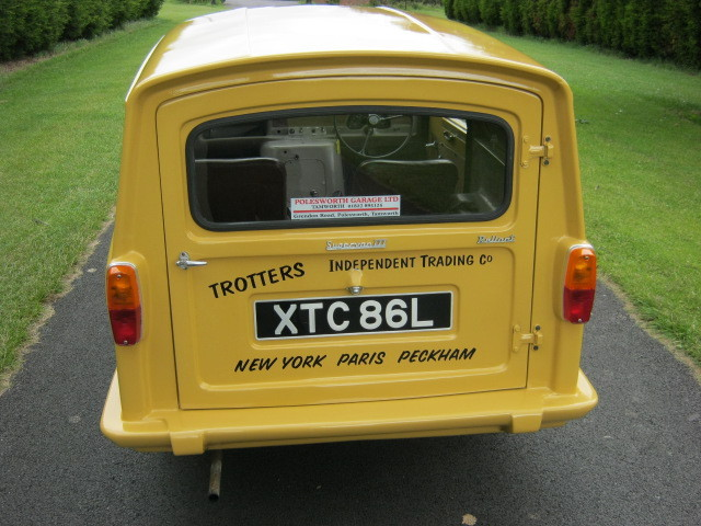 1973 reliant robin regal 3 700cc van trotters independant trading co 4