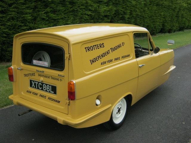 1973 reliant robin regal 3 700cc van trotters independant trading co 5