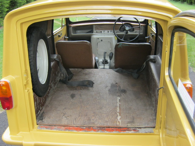 1973 reliant robin regal 3 700cc van trotters independant trading co bed
