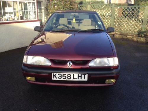 1992 Renault 19 Karmann Convertible 2