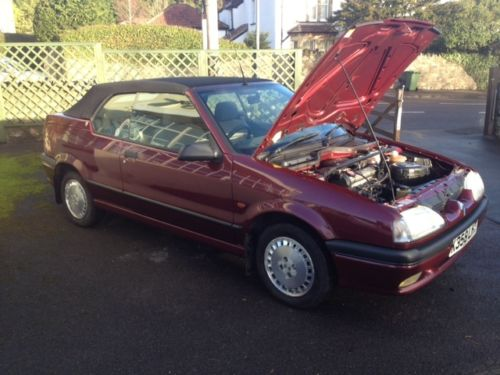 1992 Renault 19 Karmann Convertible 4