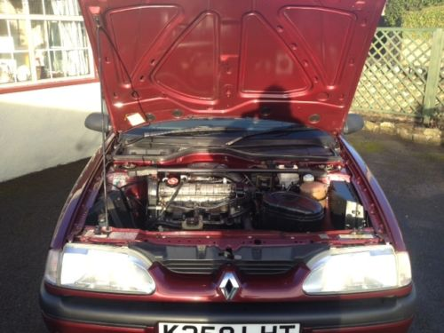 1992 Renault 19 Karmann Convertible Bonnet Up