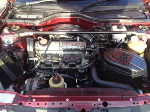 1992 Renault 19 Karmann Convertible Engine Bay