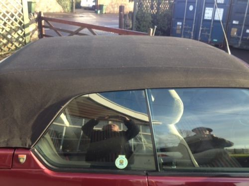 1992 Renault 19 Karmann Convertible Roof