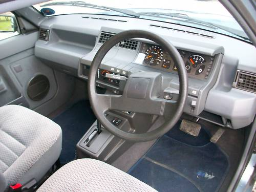 1989 renault 5 automatic 1.4 litre dashboard