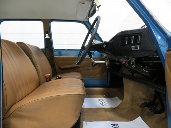1975 Renault 6 TL Front Interior 1