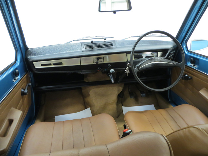 1975 Renault 6 TL Front Interior 3