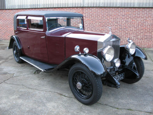 1930 rolls-royce 20 25 sports saloon by barker 1