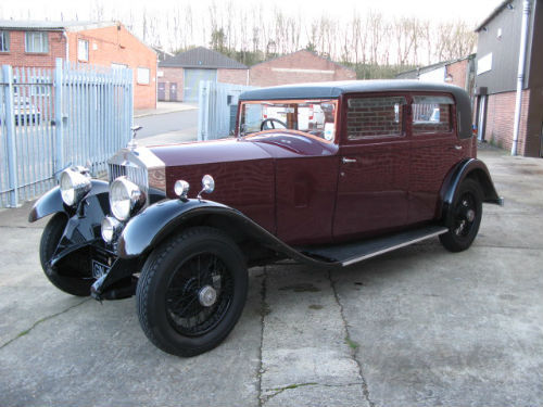 1930 rolls-royce 20 25 sports saloon by barker 2