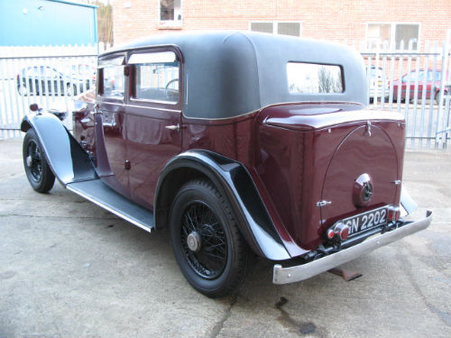 1930 rolls-royce 20 25 sports saloon by barker 6