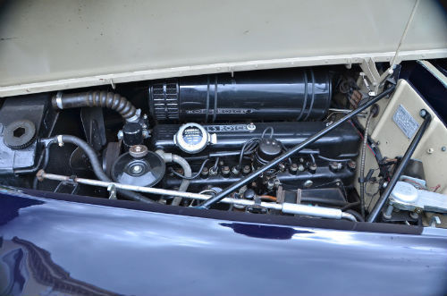 1959 Rolls Royce Silver Cloud 1 H.J. Mulliner Convertible Engine Bay