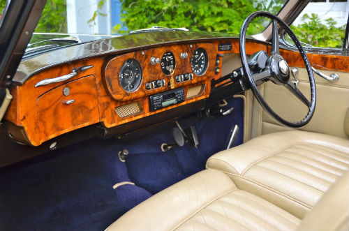 1959 Rolls Royce Silver Cloud 1 H.J. Mulliner Convertible Interior Dashboard