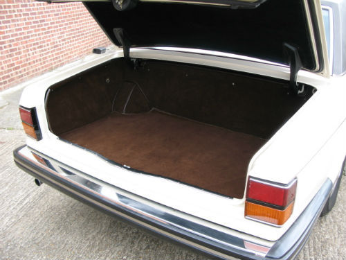1982 rolls-royce silver spur boot
