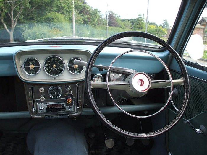 1958 Hillman Minx Jubilee Dashboard Steering Wheel