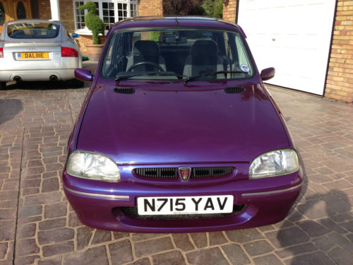 1996 Rover 100 Knightsbridge SE Purple Front