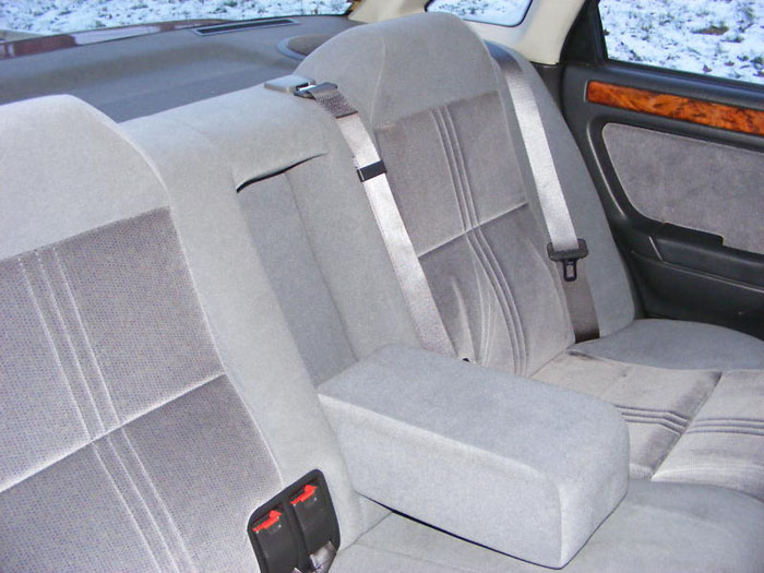 1995 rover 414 sli rear seats