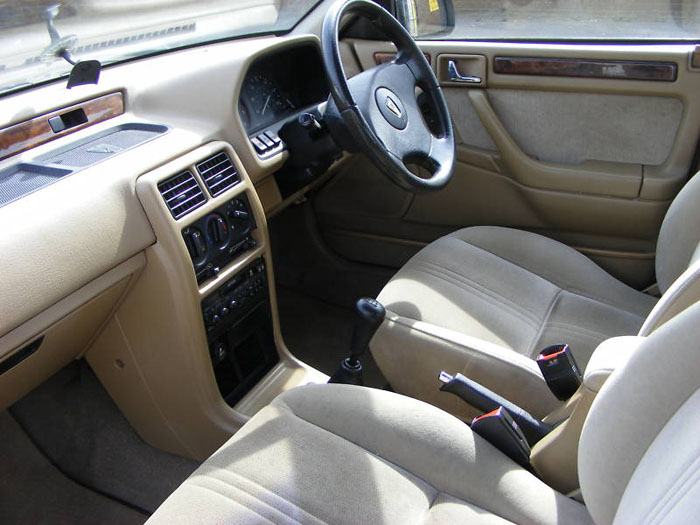 1994 rover 414 sli gold interior
