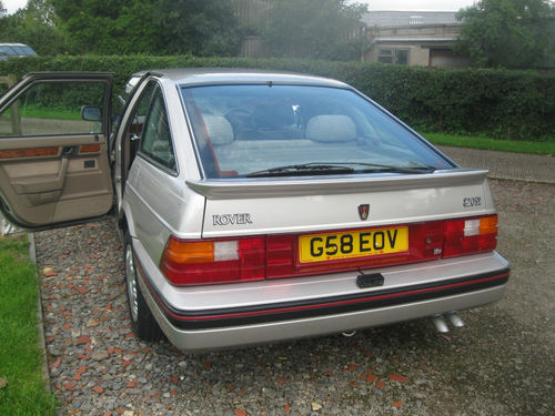 1990 Rover 820 SI Back
