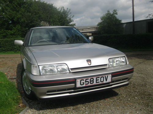 1990 Rover 820 SI Front