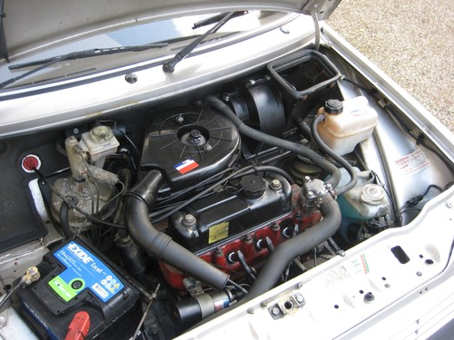 1991 Rover Metro 1.3 GS Engine Bay