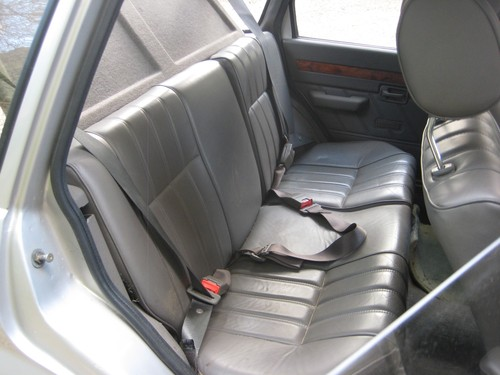 1991 Rover Metro 1.3 GS Rear Interior