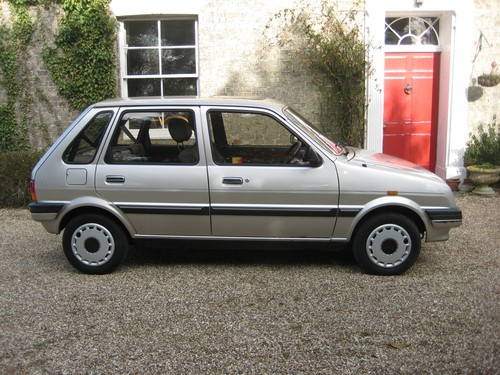 1991 Rover Metro 1.3 GS Side