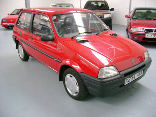 1993 rover metro quest 1.1l red 1