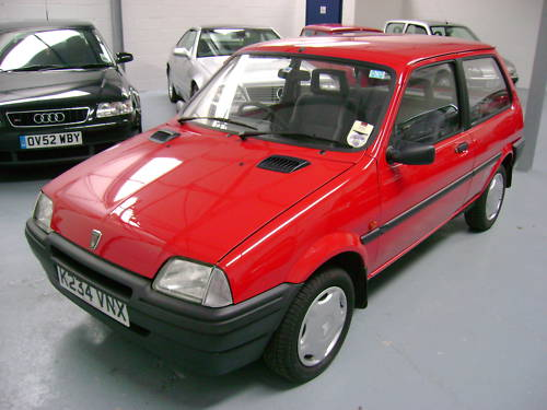 1993 rover metro quest 1.1l red 2