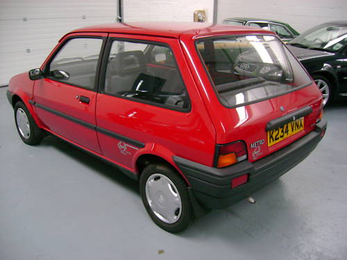 1993 rover metro quest 1.1l red 3