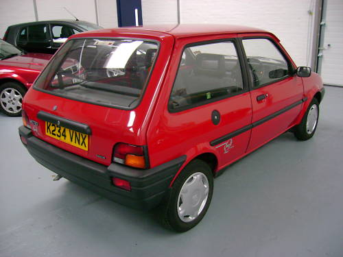 1993 rover metro quest 1.1l red 4