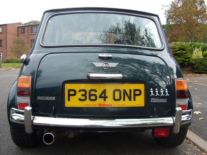 1996 rover mini cooper reg 1.3i back