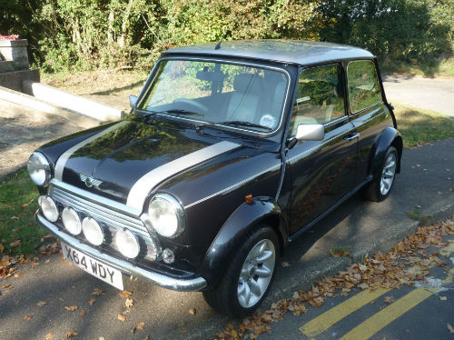 2000 rover mini cooper 1.3i sports with 112 miles 1