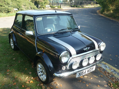 2000 rover mini cooper 1.3i sports with 112 miles 3
