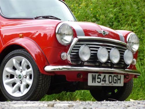 2000 Rover Mini Cooper Sport Front Lights Grill