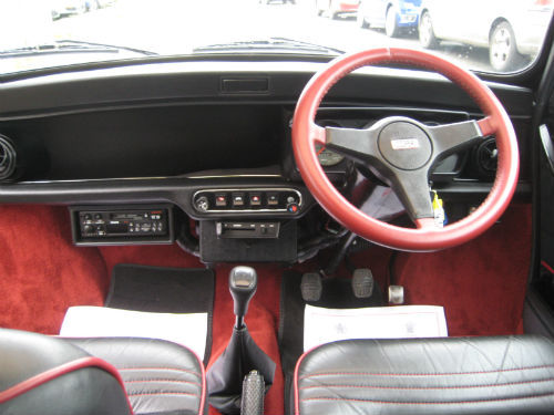 1992 Rover Mini John Cooper RSP Dashboard Steering Wheel