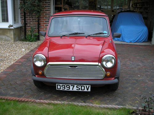 1987 Rover Mini Mayfair Front