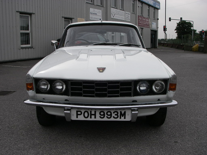 1973 Rover P6 2200 SC Front