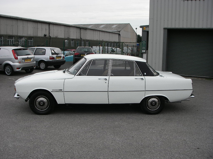 1973 Rover P6 2200 SC Left Side