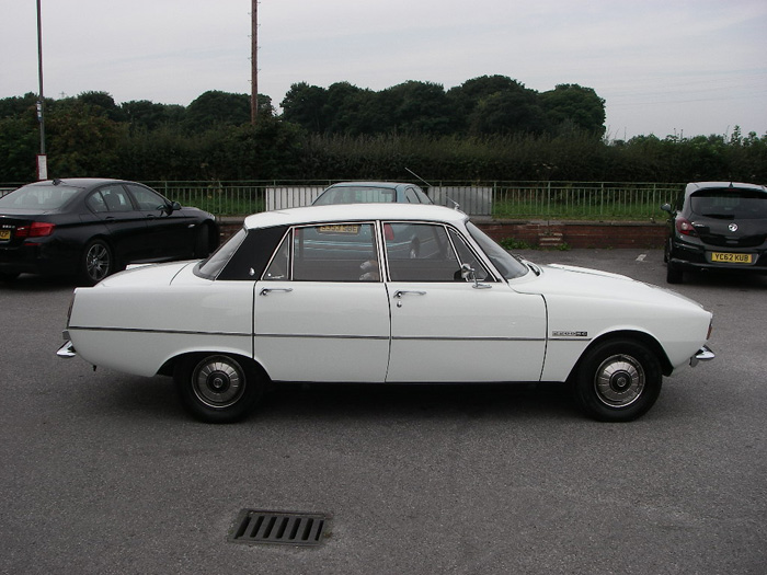1973 Rover P6 2200 SC Right Side