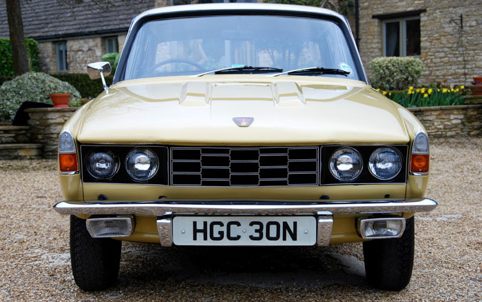 1974 Rover 2200 SC P6 Front