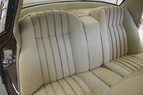 1974 Rover P6 2200 SC Rear Seats