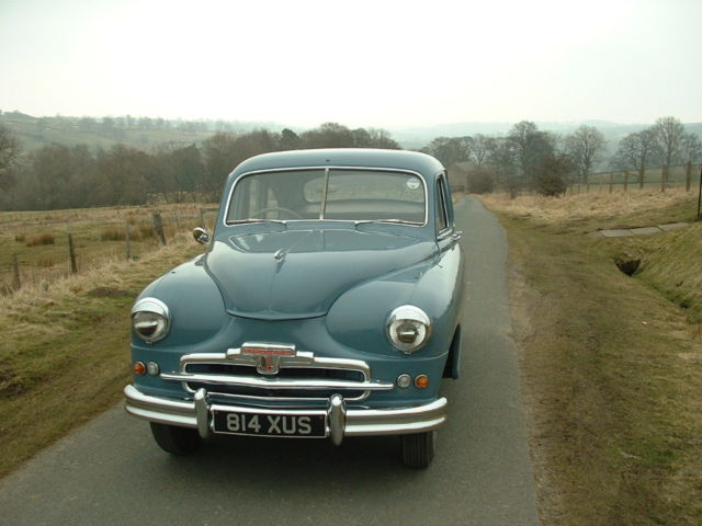 1952 standard vanguard phase front