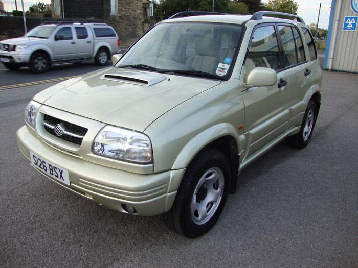 Featured Cars - Suzuki - Vitara - 1998 Suzuki Grand ...