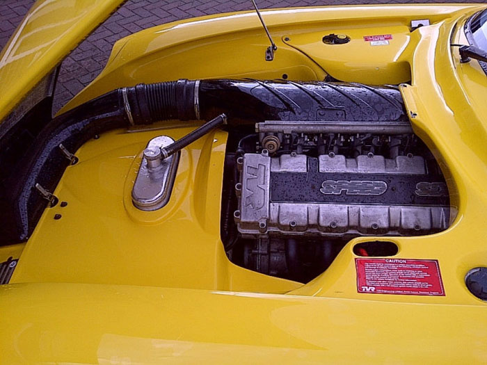 1999 tvr cerbera engine bay