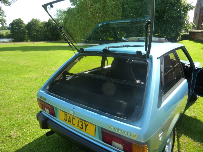 1982 Talbot Sunbeam Lotus Boot