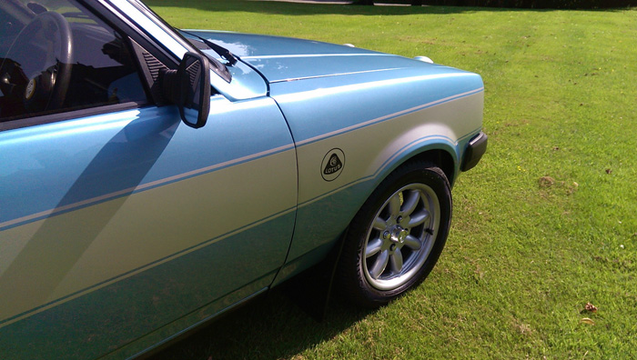 1982 Talbot Sunbeam Lotus Wheel Arch