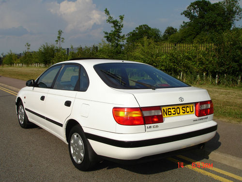 Featured Cars Toyota Carina 1996 Toyota Carina E 1 8